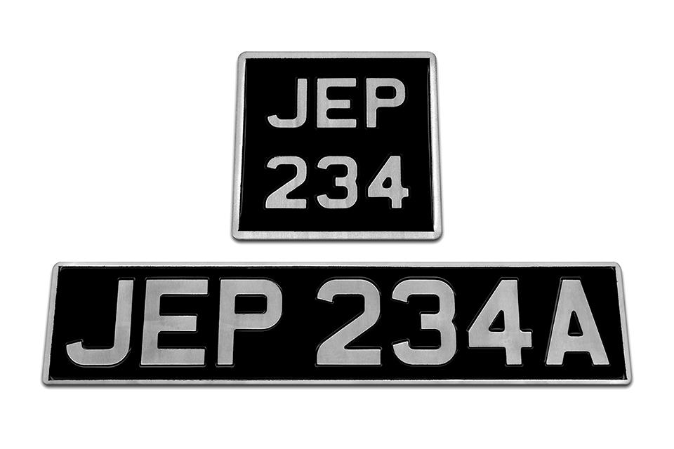 Vintage Classic Plates Jepson Co