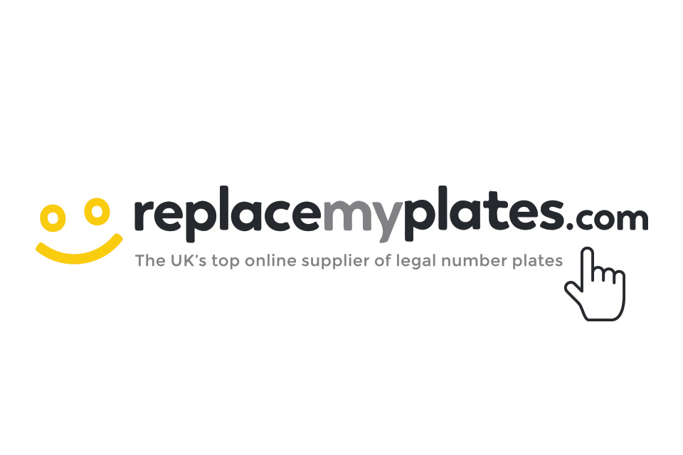 Retail replacement number plates