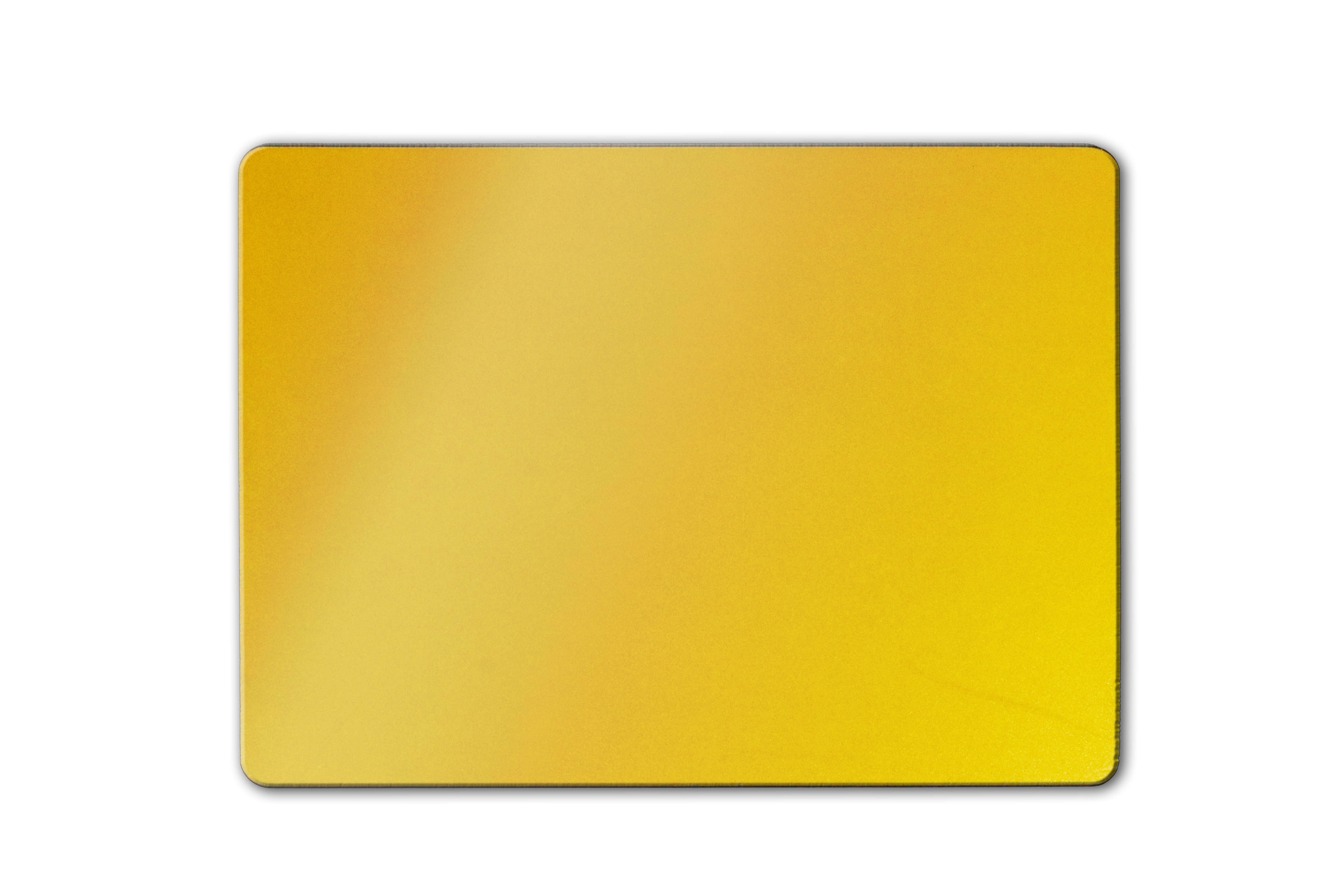 Eco-plate 4x4 square yellow ABS backing: 284 x 210mm