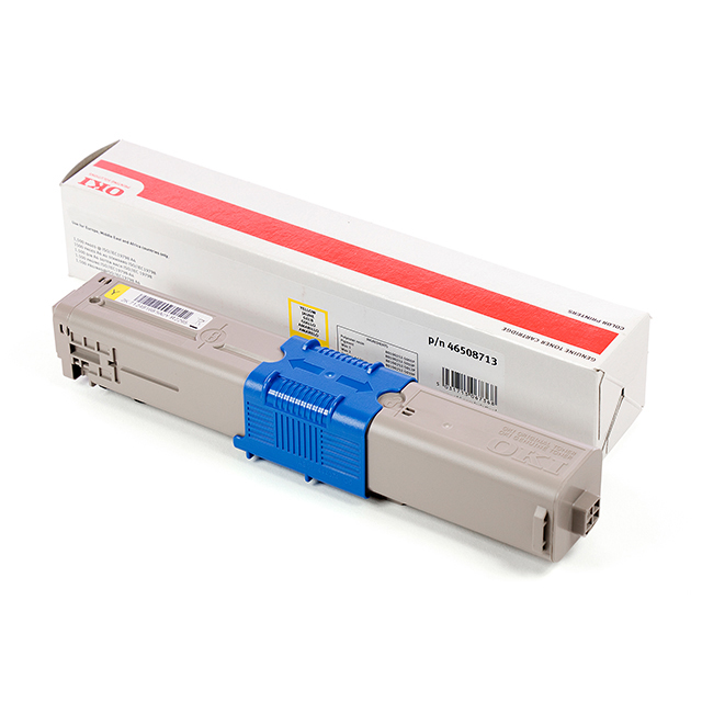 Yellow printer toner for OKI C532 laser printers (1.5k)