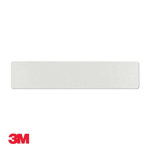 Car standard oblong 3M white reflective: 520 x 111mm