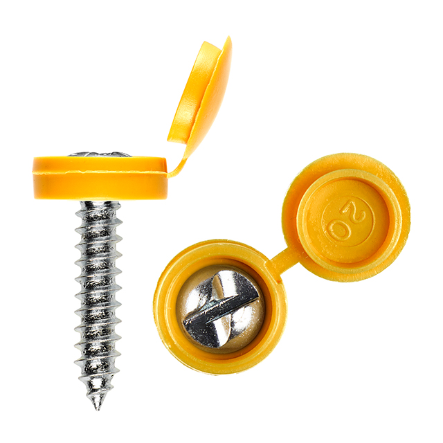 Security clutch head screws 3/4